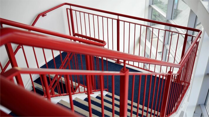 steel high rise stair manufacturer uk